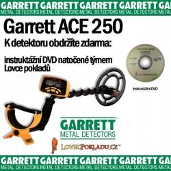 Detektor kovu Garrett ACE 250