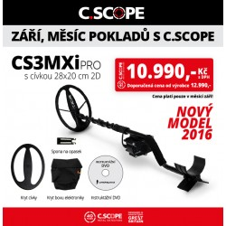 Detektor kovu C.Scope CS3MXi