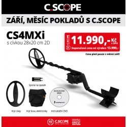 Detektor kovu C.Scope CS4MXi