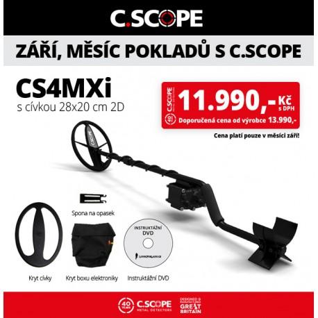 Detektor kovu C.Scope CS4MXi
