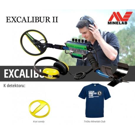 Detektor kovu Minelab Excalibur II.