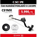 Detektor kovu C.Scope CS1MX