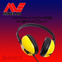 Sluchátka Koss pro Minelab CTX3030