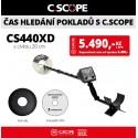 Detektor kovu C.Scope CS440XD