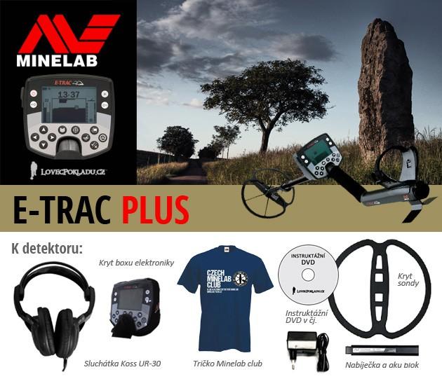 Minelab E-trac PLUS