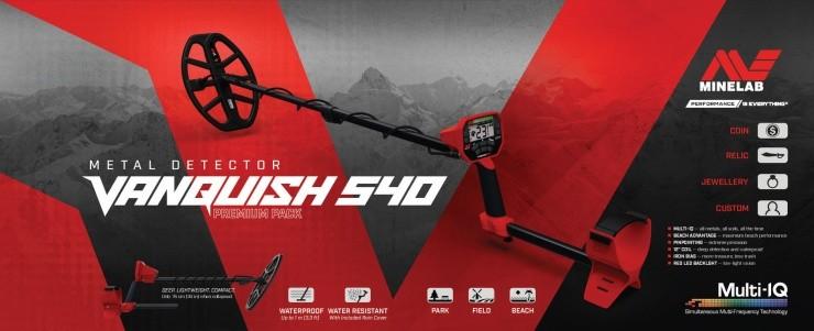 Minelab Vanquish 540 PRO