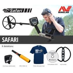 Detektor kovu Minelab Safari