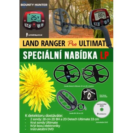 Detektor kovů Bounty Hunter Land Ranger Pro Ultimate