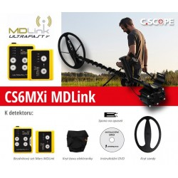 Detektor kovu C.Scope CS6MXi MD link