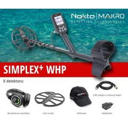 Detektor kovů Nokta-Makro Simplex + WHP