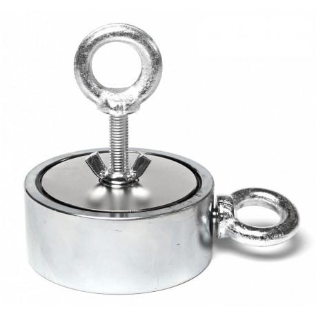 Magnet s okem M500 Double - magnetická síla 2x 310kg