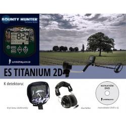 Detektor kovu Bounty ES Titanium 2D