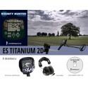 Detektor kovu Bounty Hunter ES Titanium 2D