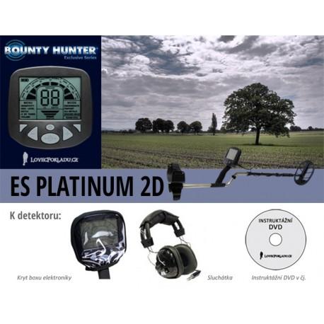 Detektor kovu Bounty Hunter Platinium 2D