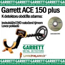 Detektor kovu Garrett ACE 150 PLUS
