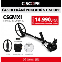 Detektor kovu C.Scope CS6MXi