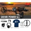 Detektor kovů Minelab Safari Power SET