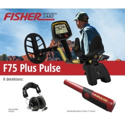 Detektor kovů Fisher Fisher F75 V2 Plus Pulse
