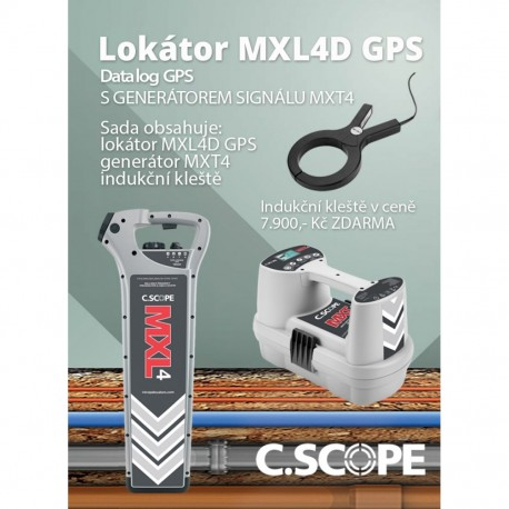Detektor ing. sítí C.Scope MXL4 DBG a generátor MXT4-set